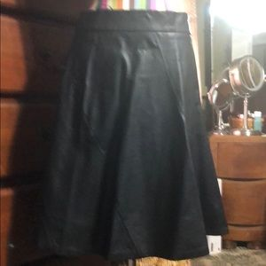 Limited leather skirt size small